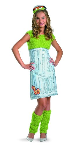 The Grouch Dress Costume Teen 10-12 (Sesame Street Kostüme Für Kinder)