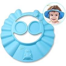 iRegro Shampoo per Bambini Sicurezza Shampoo Doccia Bathing protezione morbida Cap Hat per Toddler, Baby, Bambini & Kids per mantenere l'acqua dai loro occhi e viso