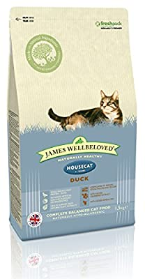 James Wellbeloved Duck and Rice House Cat Dry Cat Food