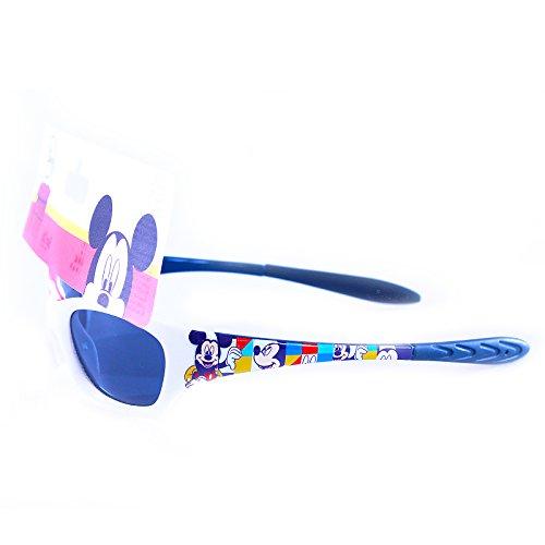 Producto oficial de niños Disney Mickey Mouse blanco gafas de sol Shades UV 400protección 3+ Mickey diseño de armas