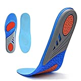 DALUCI Comfort Gel Shoe Insoles, Orthotic Insoles Plantar Fasciitis Inserts with Arch Support