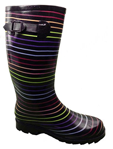 LADIES FUNKY WELLIES BOOTS WOMENS SIZE 3 4 5 6 6.5 7 8 9 RAIN MUD SNOW FESTIVALS *UK SELLER*
