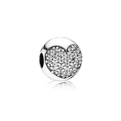 Pandora 791053cz - ciondolo da donna con zirconia cubica, argento sterling 925