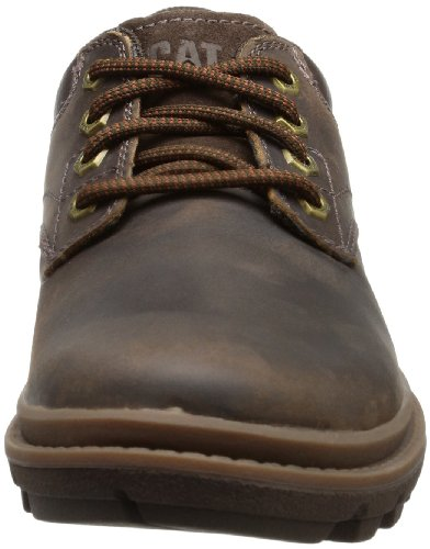 Cat Footwear  MAXWELL, Derby homme Marron - Braun (MENS DARK BROWN)
