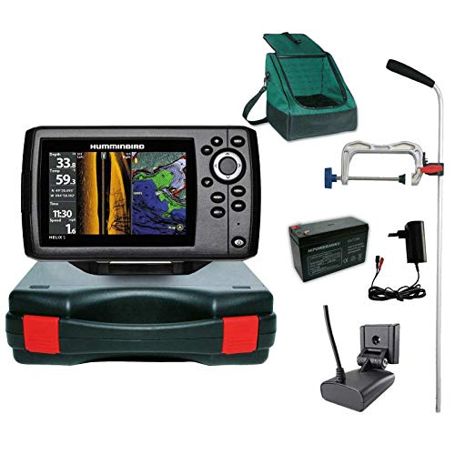 Humminbird Echolot GPS Portabel Profi Plus- Helix 5 Chirp GPS SI G2 Side Imaging Side Imaging Sonar