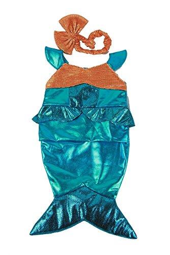 Teddybär Kleidung passt 38,1–40,6cm (40cm) Teddies & Build A Bär (Baby Mermaid Outfit)