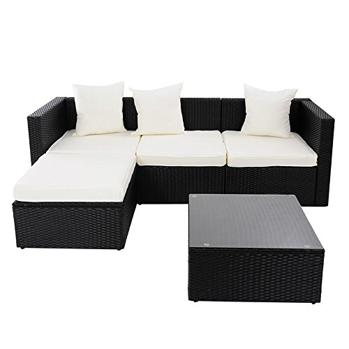 Gartenmöbel Lounge Sofa Rattanmöbel Polyrattan Gartensofa Rattan
