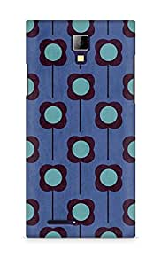 Amez designer printed 3d premium high quality back case cover for Micromax Canvas Express A99 (Flower Pattern)