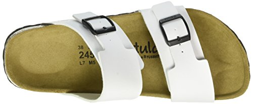 Betula Global No.1, Mules Femme Blanc - Weiß (Bf White)