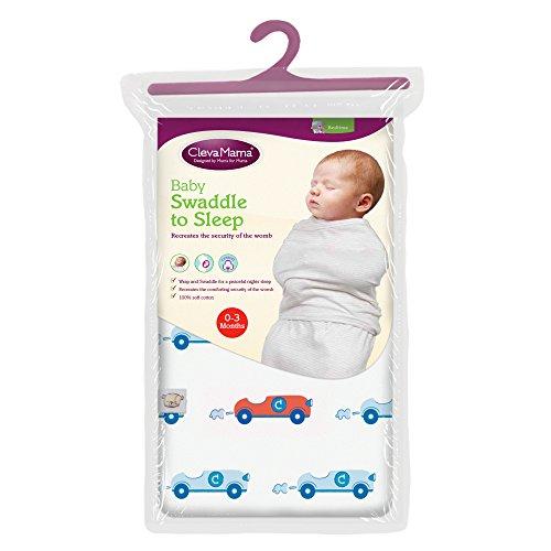 Clevamama Baby Pucktuch 0 - 3 Monate (Baumwolle)