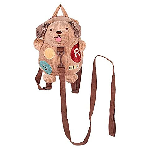Safety Harness Backpack, BELK [Light Travel] 2 in 1 Tether & Stuffed Animal Toddler Bag with Detachable Leash, [Anti Lost] Baby Boy Little Girl Nursery Daypack, Doggie
