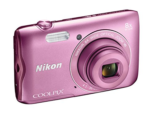 Nikon Coolpix A300 Fotocamera Digitale Compatta, 20.1 MP, Zoom Wide