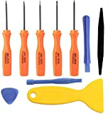 Buyyart New 10 in 1 Cell Phone Repair Tool Kit for iPhone 7 and 6/6s Plus,5s,5,4s,4 Precision Screwdriver Set Opening Disassemble Tools