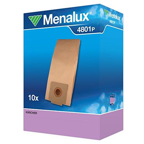 Menalux 4801P 10 Papierbeutel für Kärcher T7/1, T9/1, T10/1