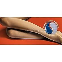 Micro Bauerfeind VenoTrain equilibrio, AG, adhesivos de la punta, CCL 2, cerrada de punta de los pies, normal de manga larga, colour marrón con reload-emulsión 100