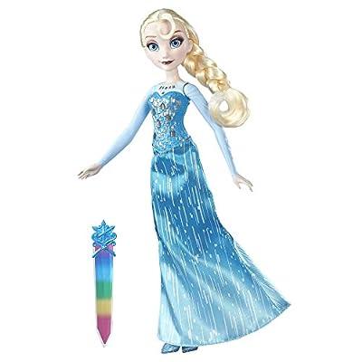 Disney Frozen Crystal Glow Elsa por HASBRO