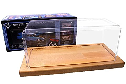 1/18 Diecast Display Case with wooden