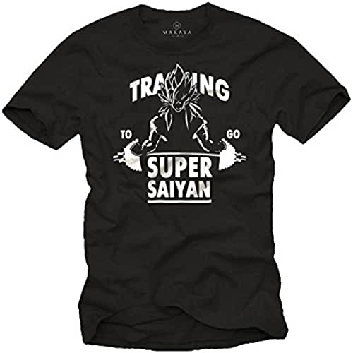 dia del orgullo friki Training To Go Super Saiyan - Camiseta Hombre