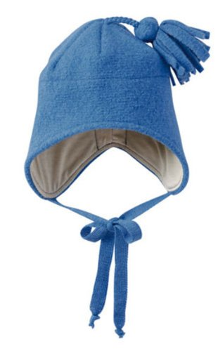 Disana Walkmütze aus Schurwolle , (03) 3-4 Jahre, blau