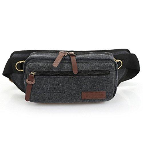 Borse Esterne Multifunzionali Multicolore,Brown-25*12*13cm Black