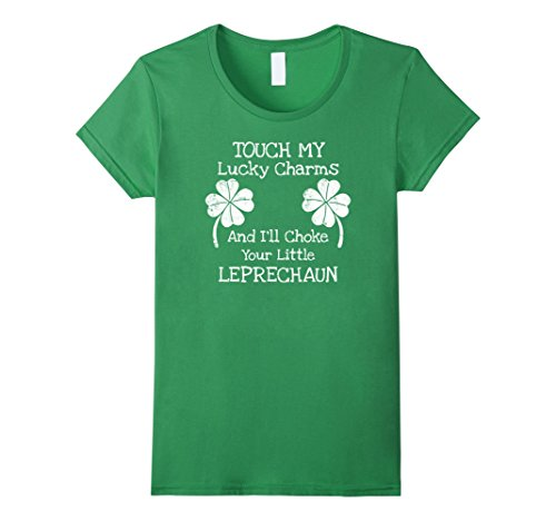 touch-my-lucky-charms-and-ill-choke-your-little-leprechaun-damen-gre-xl-grn