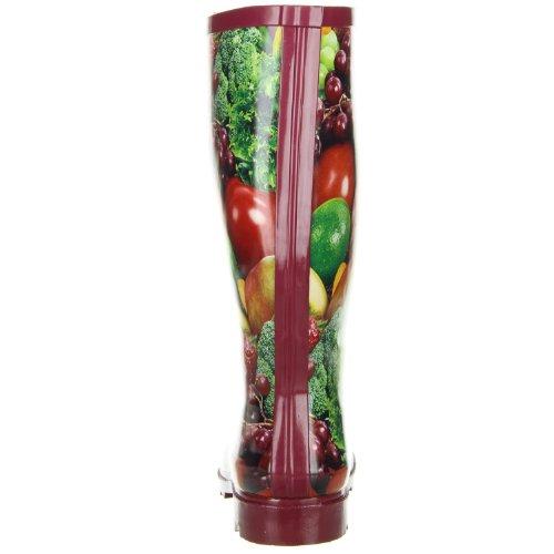 ConWay Damen Gummistiefel (Gemüse & Obst) mehrfarbig Mehrfarbig