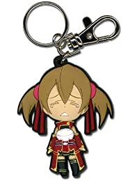 Sword Art Online Crying Silica Sd Pvc Keychain