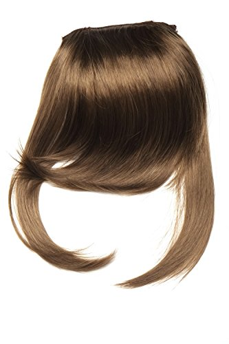 Clip-In Pony, lange Seitensträhnen, besonders natürliche Passform 30 cm Braun L3061-10 - In Pony Lange Clip