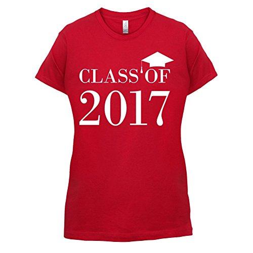 Class Of 2017 - Damen T-Shirt - 14 Farben Rot