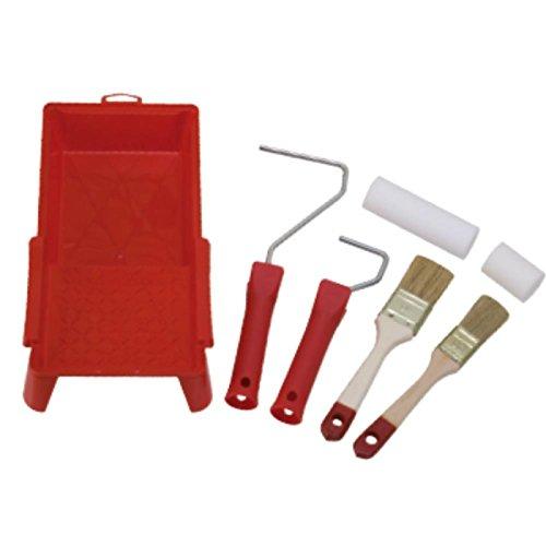 NiNeKa SET761825-01 - Juego de pinceles y rodillos con cubeta para pin