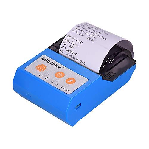 Leslaur GOOJPRT PT200 Impresora térmica recibos inalámbrica