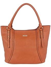 FUR JADEN Women's Handbag( Tan,H216_Tan)