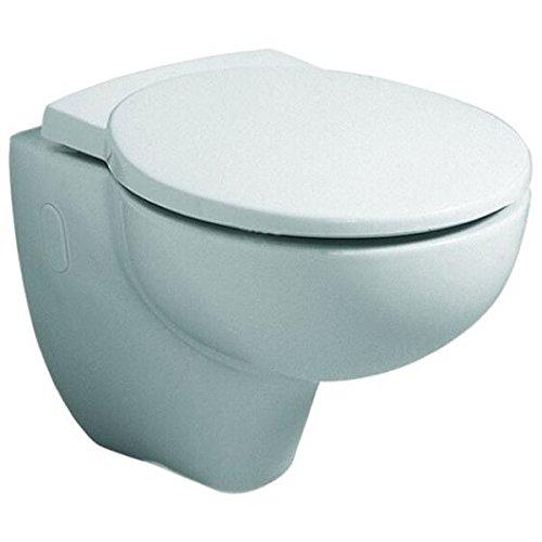 Toilettendeckel / WC – Sitz Joly | mit Deckel, abnehmbare Scharniere aus Edelstahl, ohne Absenkautomatik | klassischer Stil, Gewicht: 2,4 kg