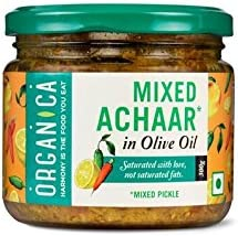 Organica Olive Oil Mixed Pickle, 300g