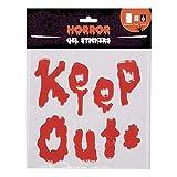 Original Cup Horror-Gel-Aufkleber durchhalten, Horror-Aufkleber durchhalten, Vinyl (rot)