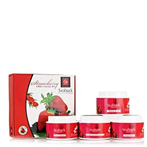 Seabuck Strawberry Fruit Facial Kit - 400gm