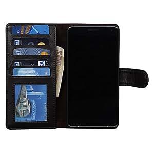 Dsas Artificial Leather Wallet Flip Cover designed for Motorola Google Nexus 6