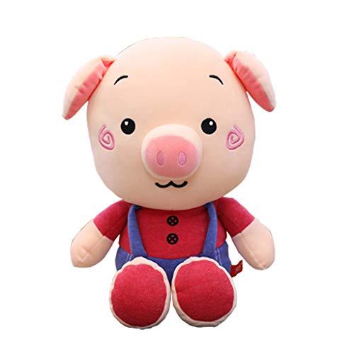 TAOtTAO 60 cm das niedliche schwein plüsch puppe spielzeug weiches stofftier kinder geschenk super niedlich daunen baumwolle sling glücklich plüschtier jahr maskottchen weichen körper strap baby ()
