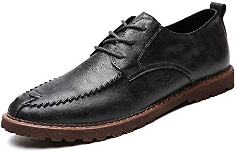 Xujw-scarpe, 2018 2018 2018 Scarpe Stringate Basse Men's Business Oxford Casual Nuovo stile semplice classico scarpe da punta... | Un equilibrio tra robustezza e durezza  | Scolaro/Signora Scarpa  99b9be