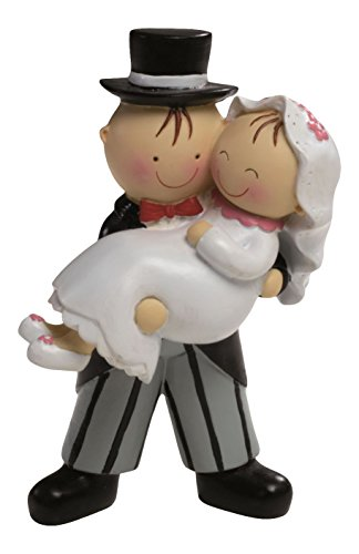 Mopec Y59 - Cake Figure Cake Figure Bride in Arms, 15,5 cm