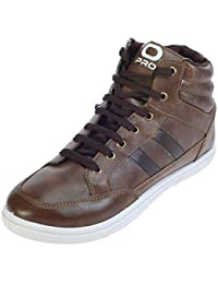 Pro (from Khadims) Mens Brown Synthetic Casual Dress Sneakers