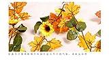 LYFWL Weihnachtsschmuck Sunflower Maple Leaf ...Vergleich