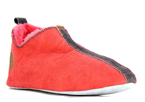 Shepherd, Pantofole donna Rosso Red Coral
