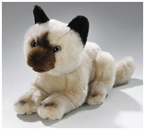 Peluche - Gato beige (felpa, 20cm) [Juguete]