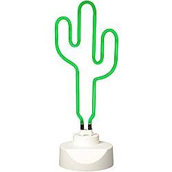 neoly 37–1l-009lámpara neón Cactus verde