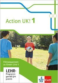 Bd.1 : 5. Klasse, Action UK! Filmsequenzen zu Green Line 1, 1 DVD