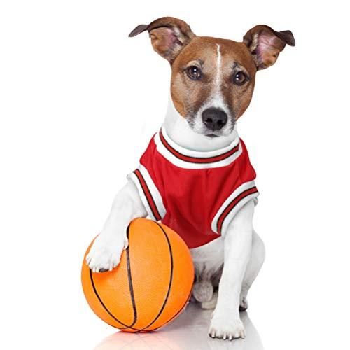 Haustierkleidung Haustier-Polo-T-Shirt Breathable weiches Basketball-Weste-Hemd kleine mittlere Hunde Katzen-Outfit-beiläufige Kostüme