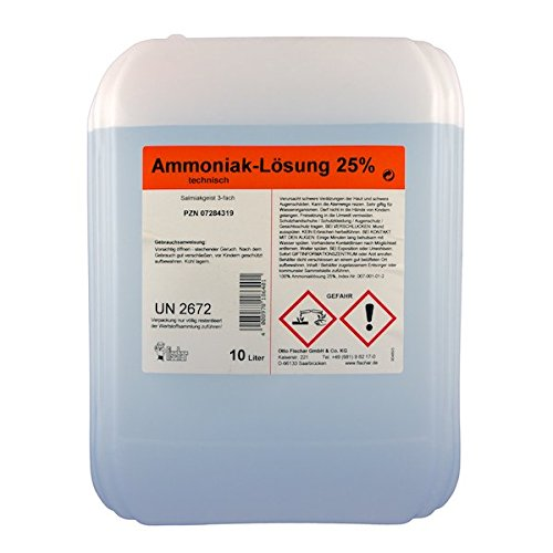 Ammoniaklösung 25 % 10 L
