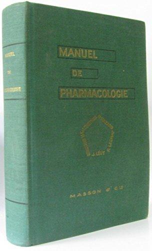 Manuel de Pharmacologie