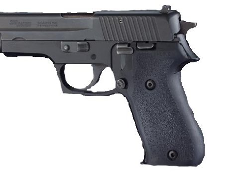 Hogue Rubber Grip Sig Sauer P220 American Rubber - No Finger Grooves